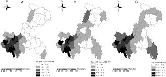 Chongqing China Map by The Aids Epidemic And Economic Input Impact Factors In Chongqing
