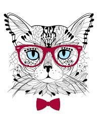 Hipster Kitty Meme - list of synonyms and antonyms of the word hipster cat