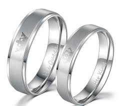 couples rings images His queen her king couples rings jpg