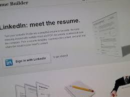 Linkedin Resume Pdf Use Linkedin Labs To Create A Resume In A Pinch Cnet