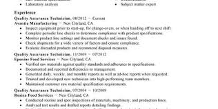Quality Assurance Specialist Resume Software Quality Assurance Resume Sample Software Quality