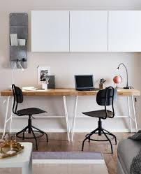 Excellent Home Office Organizers Decoration With L Shaped Wooden
