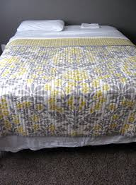 Yellow And White Duvet Bedroom Terrific Target Quilts For Your Dream Bedroom Idea