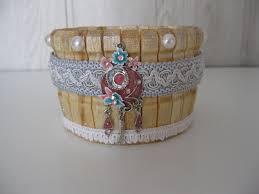 manchette cache pot cache pot ou boite en épingles à linge