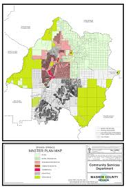 Map Of Colorado Springs Area by Master Plan