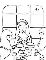 ramadan coloring pages kids islamic colouring activity