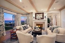 Nautical Family Room Style Near The Sea Beautifully Elegant Home Near The Sea Has