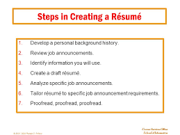 Tailor Resume To Job by Résumés And Cover Letters Plus Other Important Stuff Ppt Download