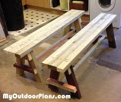 Diy Wooden Bench Seat Plans by Diy Bench Seat Myoutdoorplans Free Woodworking Plans And