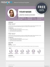 Free Resume Templates For Download Centrum Simple Resume Template