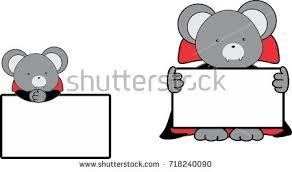 cute halloween vampire clipar clip cute baby mouse cartoon halloween vampire stock vector 718240090