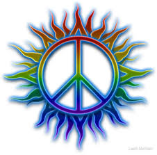 peace sign sun stickers by mcneir redbubble