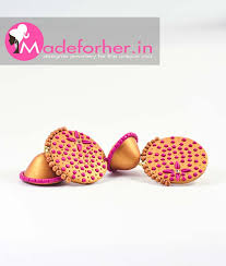 earrings online india buy stylish golden color fashion earring online best price