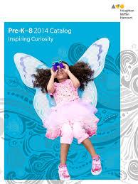 pre k u20138 2014 catalog houghton mifflin harcourt pre kindergarten