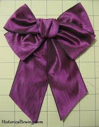 how to make ribbon bows for costumes