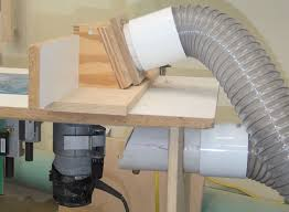 router table dust collection creating better dust collection for your power tools