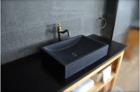 black stone bathroom sink luxurious shanxi black granite torrence shadow 24 x16 bathroom sink