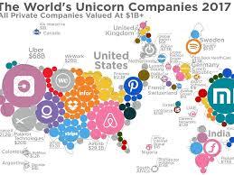 mapped the world u0027s unicorn companies business insider