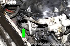 bmw e46 vanos solenoid oil line replacement bmw 325i 2001 2005