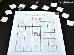 s day bingo presidents day bingo