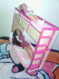 Barbie Bunk Beds Bunnybed2 Inexpensive Way To Make A Bed For A Child U0027s Dolls And