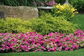 Simple Flower Garden Ideas Adorable Flower Garden Bed Ideas 2016 Photos Gardening Design