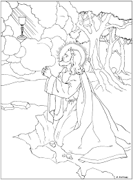 rosary coloring pages family feast feria