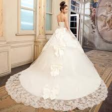 top wedding dress designers uk i like it with the top bow the rest trailing is overkill i
