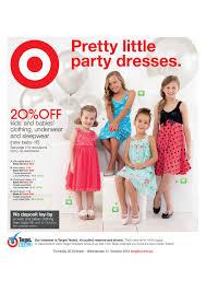 target catalogue pretty little party dresses