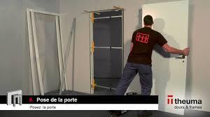 Dimension Bloc Porte by Notice De Pose D U0027un Bloc Porte De Theuma Youtube