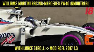 martini racing ferrari assetto corsa williams martini racing mercedes fw40 montreal
