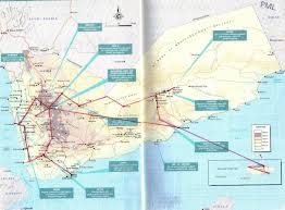 Map Of Yemen My Brother The Traveler