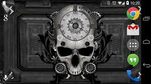 steampunk halloween background steampunk clock live wallpaper android apps on google play