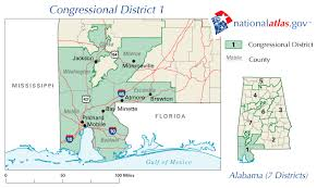 Florida House Districts Map Alabama Congressional District 1 Rep Map Current U0026 111th House