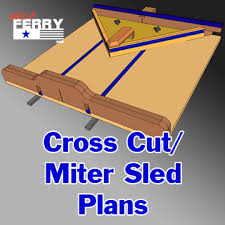 miter cuts on table saw table saw cross cut miter sled plans