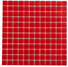 Glass Mosaic Border Tiles Red Border Tile Diy