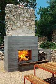 Outdoor Fireplace Designs - modern outdoor fireplaces design ideas creative fireplaces