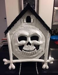 mardi gras skull mask cuckoo clock skull mask mardi gras 2016 part 3 manning makes stuff