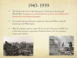 Council Of European Union History The European Union Eu Overview Brief History Present Future
