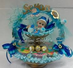 baby shower return gifts baby shower return gift basket boy pooja thali designs laxmi