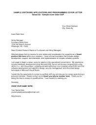 address cover letter to unknown the letter sample