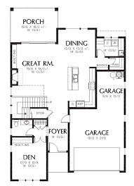 Contemporary Plan by Contemporary Style House Plan 4 Beds 2 50 Baths 2874 Sq Ft Plan
