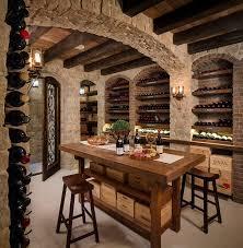 furniture basement wine storage wooden wine rack cabinet home