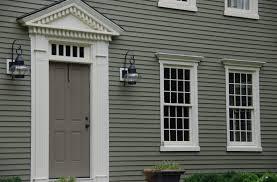 Colonial Exterior Doors Doors Christian Siding