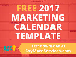 free resume template 2017 download monthly calendar 2017 marketing calendar template in excel free download say