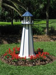 poly garden lighthouse by dutchcrafters amish furniture houtwerk