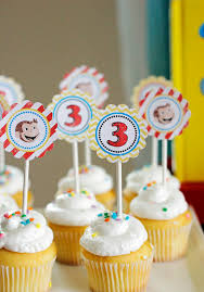 curious george cupcakes curious george birthday party pretty my party