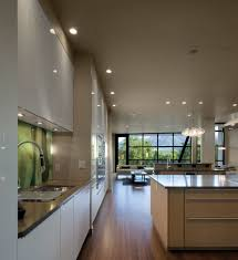 Modern Galley Kitchen Photos Long Cabinet Pulls Kitchen Contemporary With Bamboo Contemporary