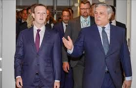 si e social bruxelles parlamento ue audizione con zuckerberg errori non