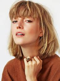 Blunt Cut Bob Hairstyle The Most Flattering Short Haircuts For Thick Hair Thicker Hair